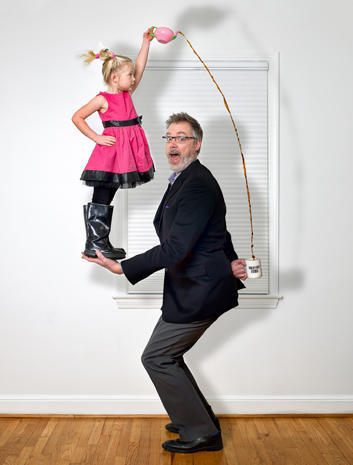 "Photographer Dave Engledow, the ""World's Best Father"""