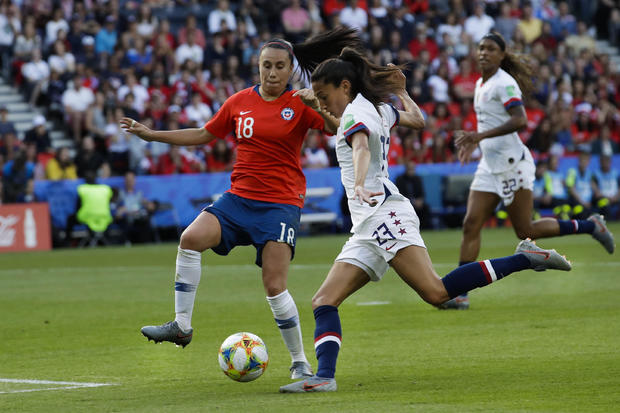 USA vs Chile today: 2019 Women's World Cup highlights, score