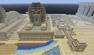 Mining lessons from the blockbuster game Minecraft