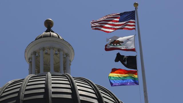California Capitol Pride Flag