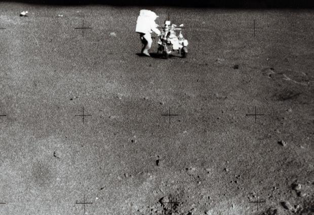 Apollo 14 mission US astronaut Edgar D.