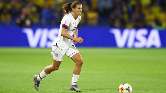 Women's World Cup 2019 — U.S. beats Sweden