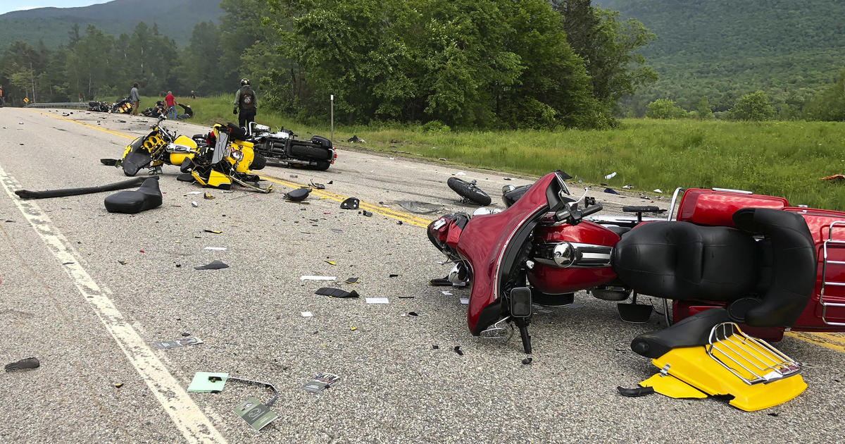 New Hampshire motorcycle accident: Pickup Truck driver Volodoymyr Zhukovskyy charged with 7 counts of negligent homicide from motorcycle crash that killed seven Saturday