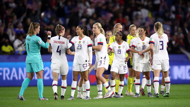 Sweden v USA: Group F - 2019 FIFA Women's World Cup France
