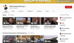 Subscribe to Sunday Morning's YouTube channel