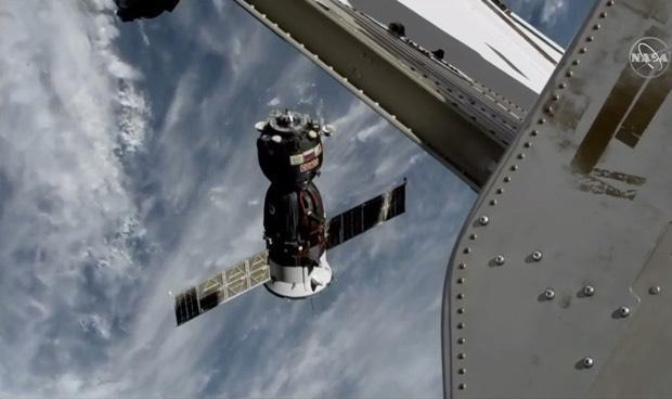 Soyuz MS-11 undocks