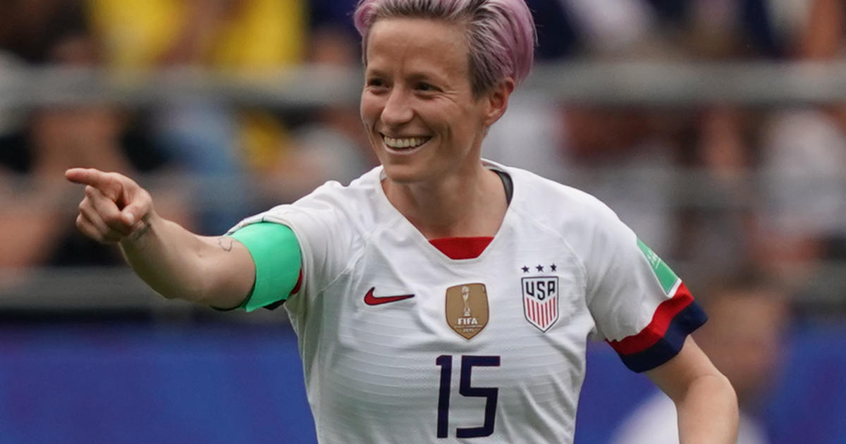 Megan Rapinoe doubles down today on skipping White House visit - CBS