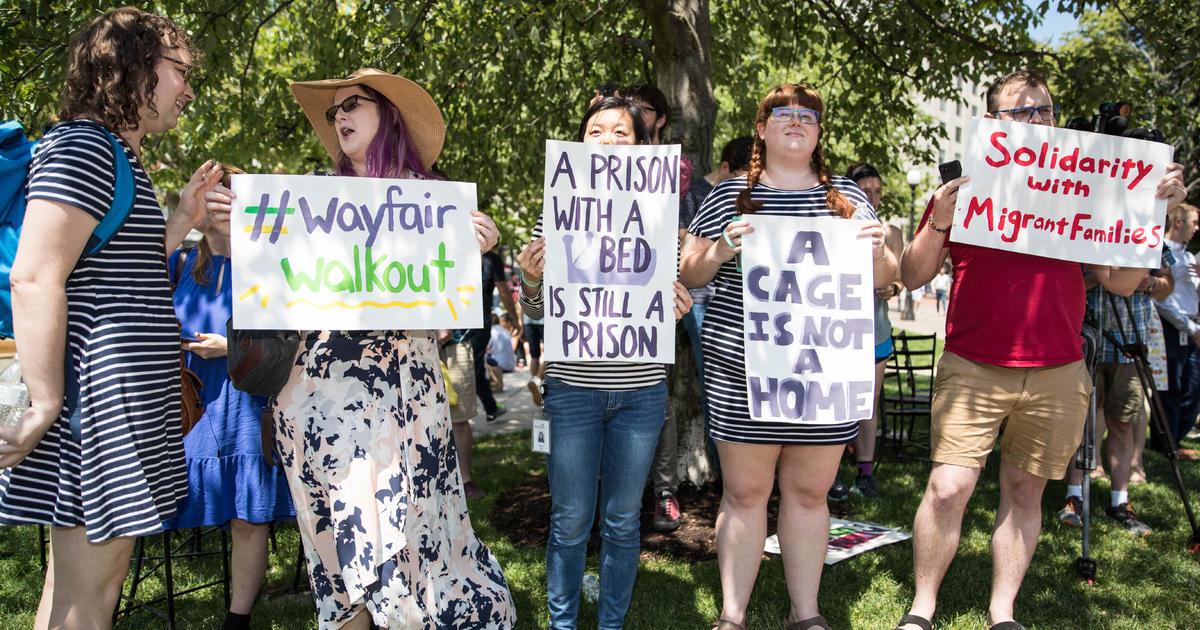 Wayfair Walkout Hundreds Of Employees Walk Out To