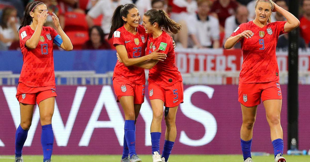 2fb1b0c8 USWNT score: U.S. defeats England 2-1 to advance to Women's World ...
