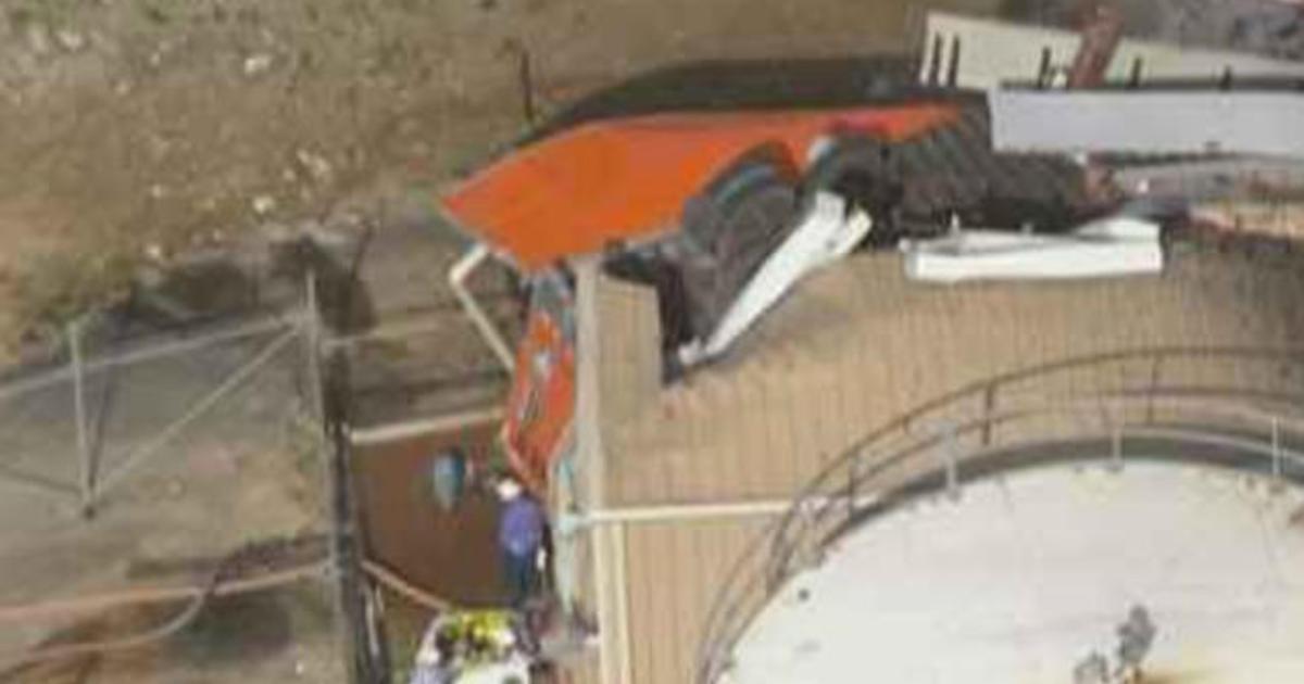 Driver killed after semi falls off bridge in Houston
