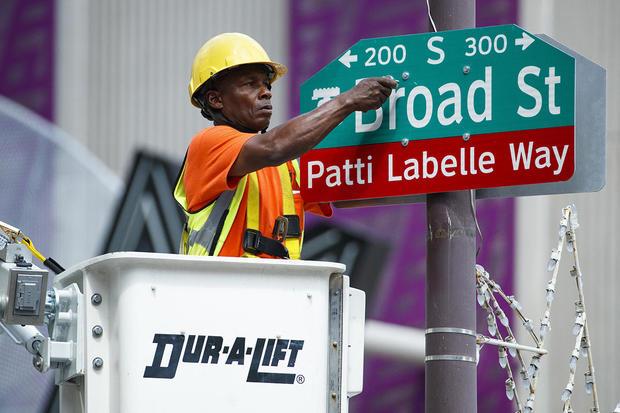 Patti LaBelle Street Naming
