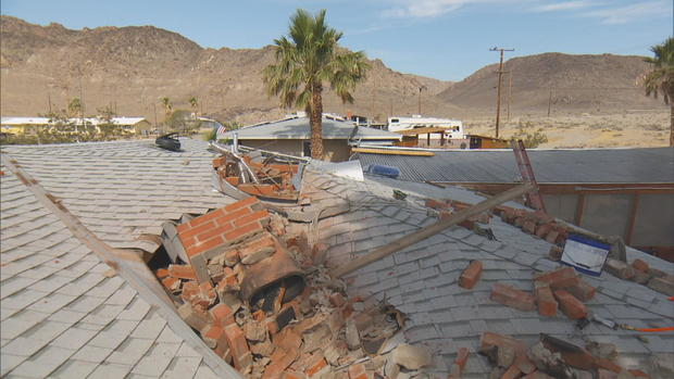 Some California residents so rattled by big earthquakes they