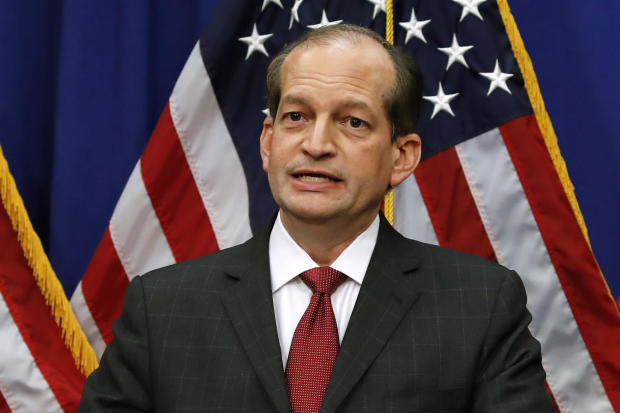 APTOPIX Financier Labor Secretary