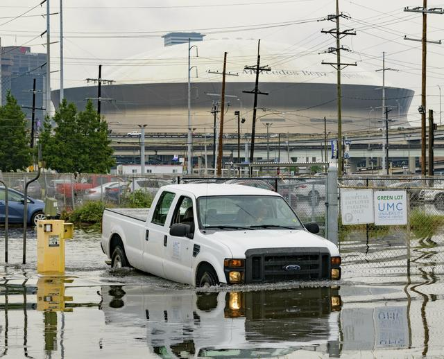 New Orleans weather: Flooding hits Louisiana as possible hurricane