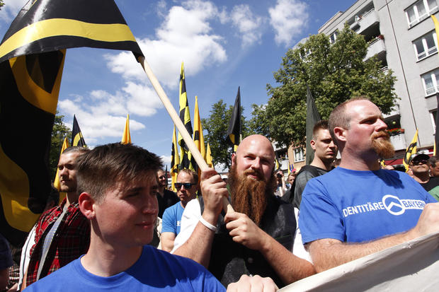 Identitarian Movement Marches In Berlin