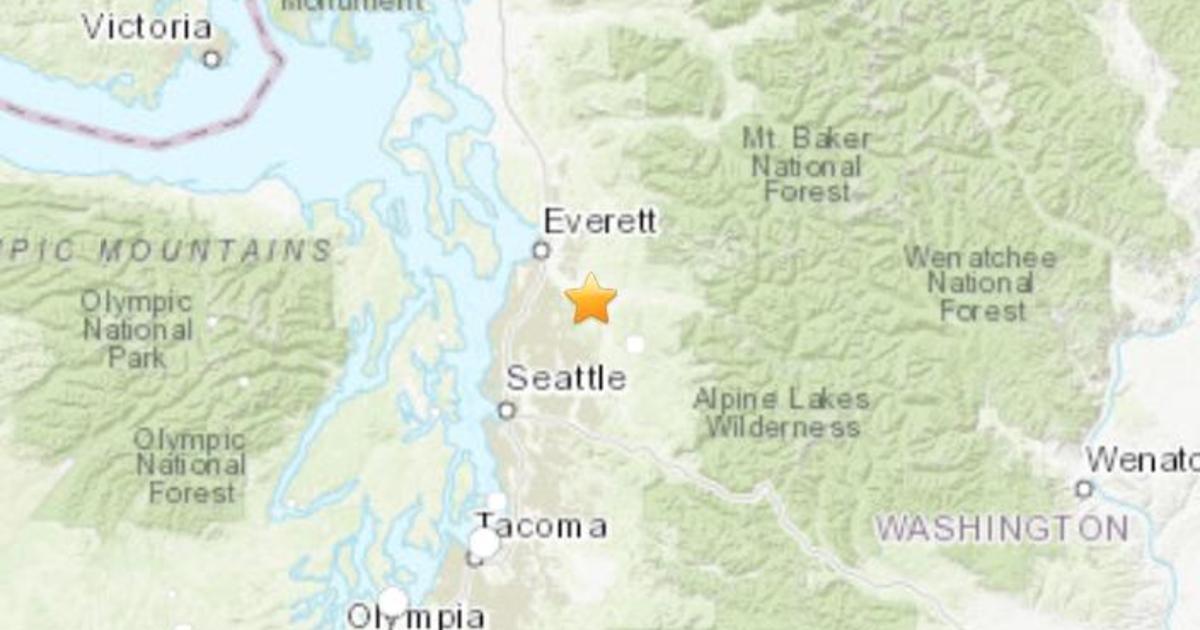 Seattle earthquake: Quake rattles Washington state today ...