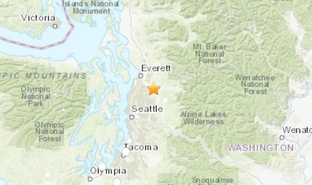 Seattle earthquake: Quake rattles Washington state today, followed on