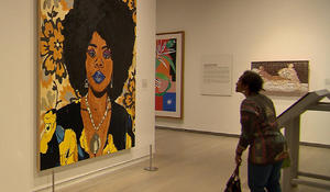 Black models in modern art