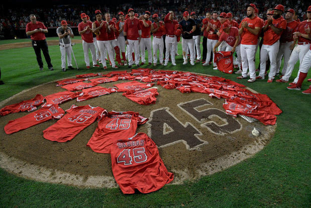 Tyler Skaggs: Los Angeles Angels throw no-hitter while