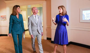 Jeff Bezos and Caroline Kennedy on the future of space exploration