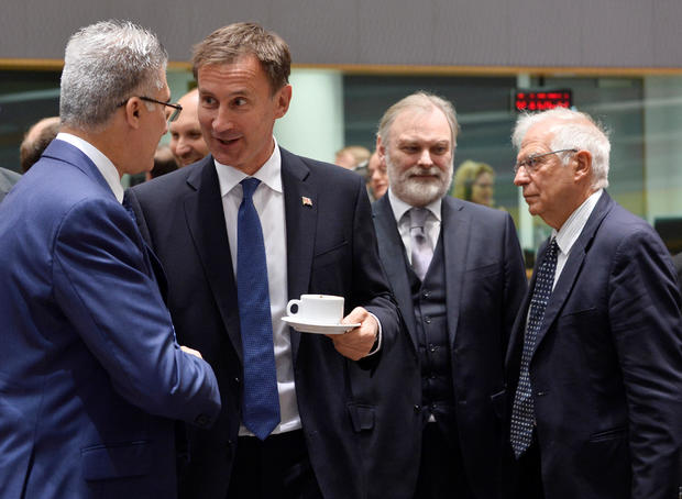 EU Foreign Ministers meeting in Brussels