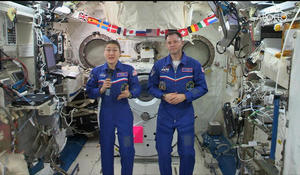 American astronauts on the ISS reflect on moon mission 50 years later