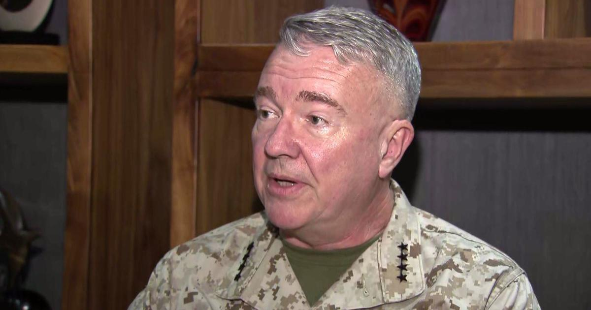CBS News travels with top U.S. military commander in the Middle East amid Iran tensions