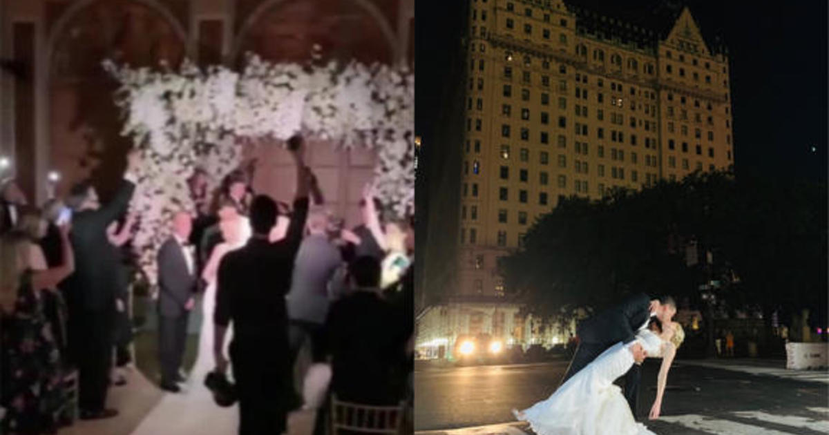 New York City couple continues wedding during blackout – disappointed but dancing