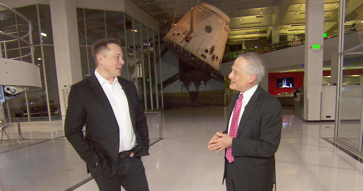 SpaceX's Elon Musk says he can put a man on Mars in four years