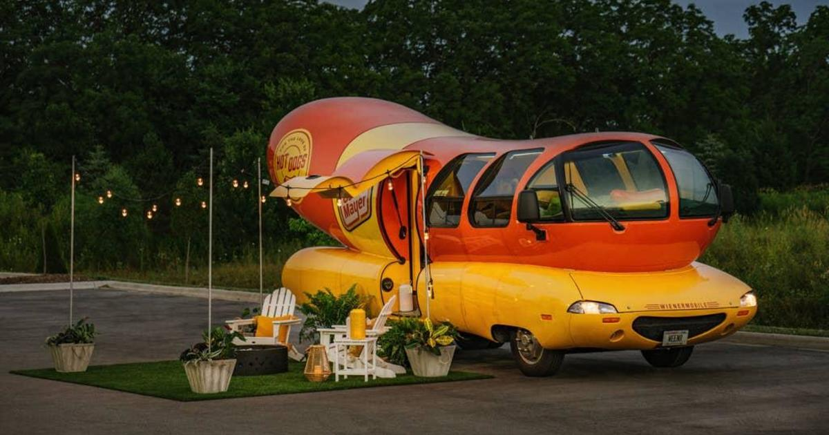 Oscar Mayer's Wienermobile Converted Into Hotel Room