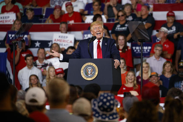 Trump rally Greenville: Watch live stream as President Donald Trump holds rally in Greenville, North Carolina, today – live updates