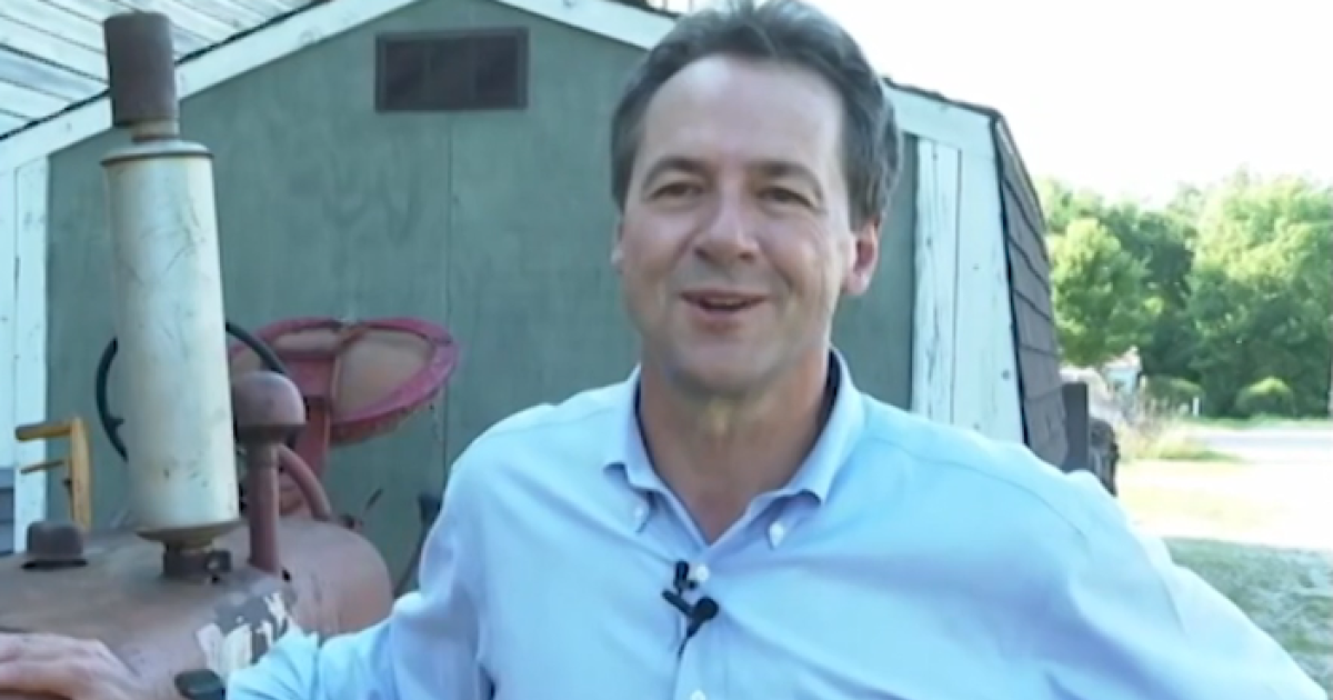 Steve Bullock takes a break from the campaign trail to connect with his past