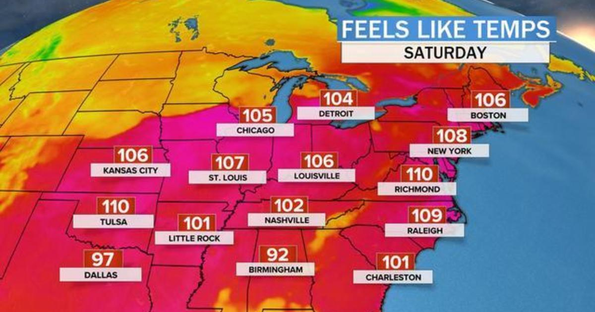 Record highs expected as heat wave hits Midwest, East Coast