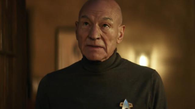 Jean-Luc Piacard from the Star Trek: Picard trailer