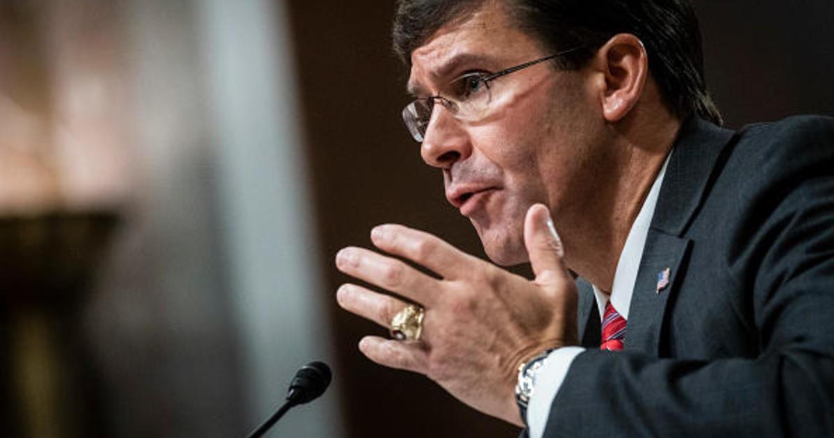 Mark Esper confirmed by Senate as defense secretary