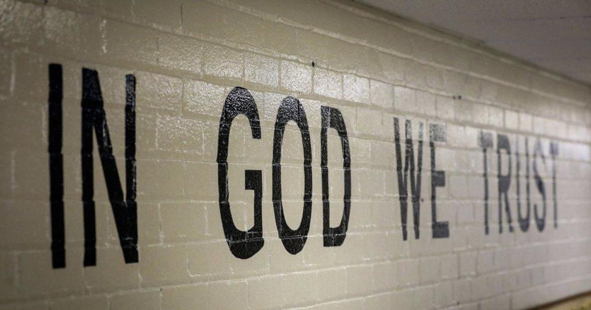 """In God We Trust: South Dakota will require """"In God We Trust"""" signs in all public schools under new state law"""