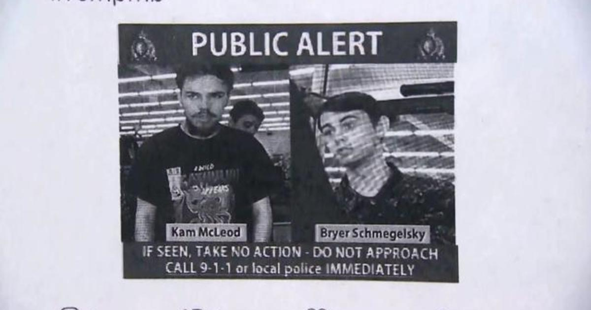 Manhunt in Canada for suspects connected to 3 murders, including an  American tourist and Australian boyfriend