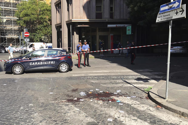 Italy Killed Policeman