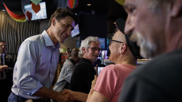 Justin Trudeau gay bar