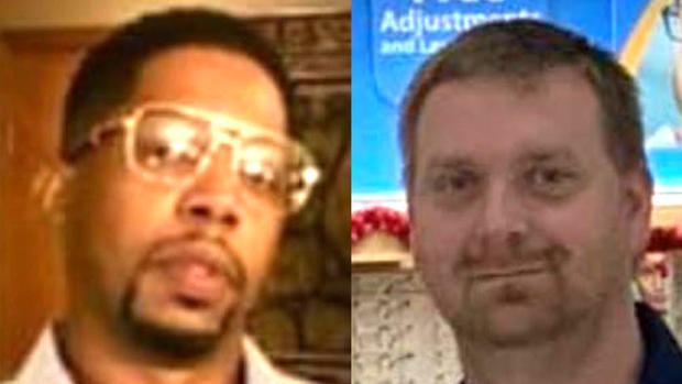 Brandon Gales, left, and Anthony Brown are seen in a combination of photos obtained by CBS affiliate WREG-TV.