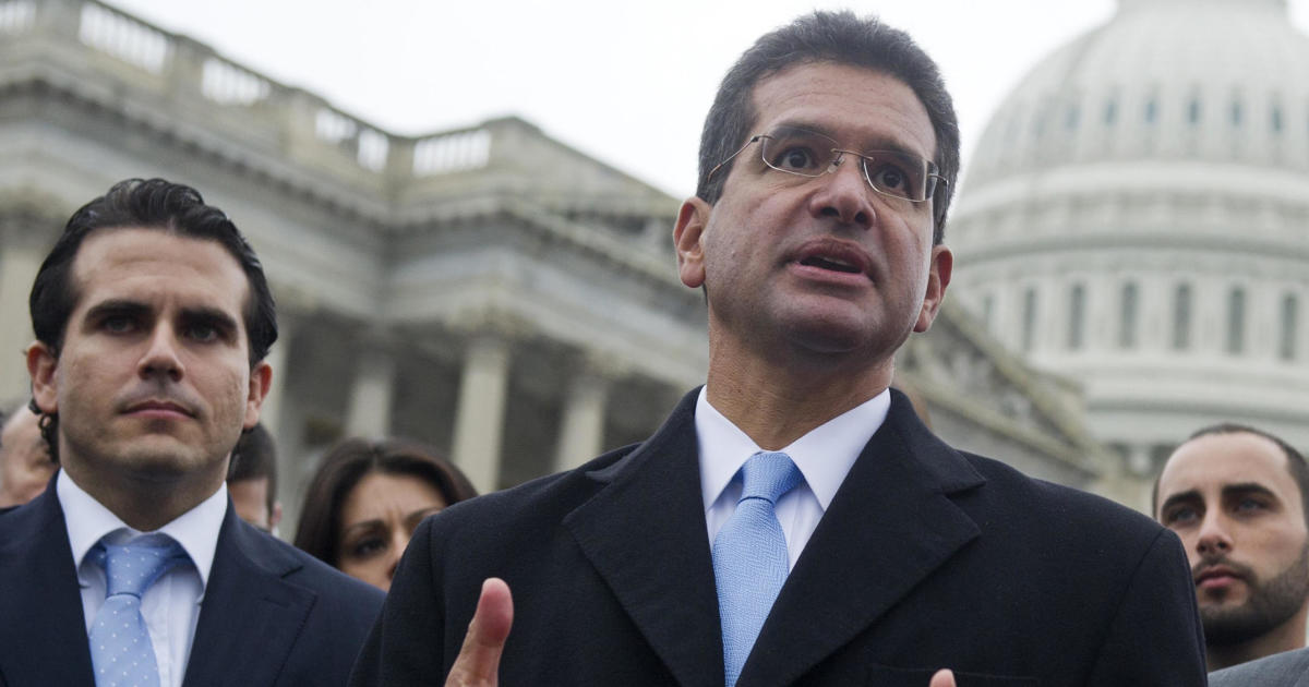 Puerto Rico Gov. Ricardo Rosselló says Pedro Pierluisi will be sworn in as replacement