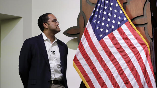 U.S. Rep. Will Hurd, R-Texas, waits to speak to students at Texas A&M-San Antonio Oct. 23, 2018, in San Antonio.