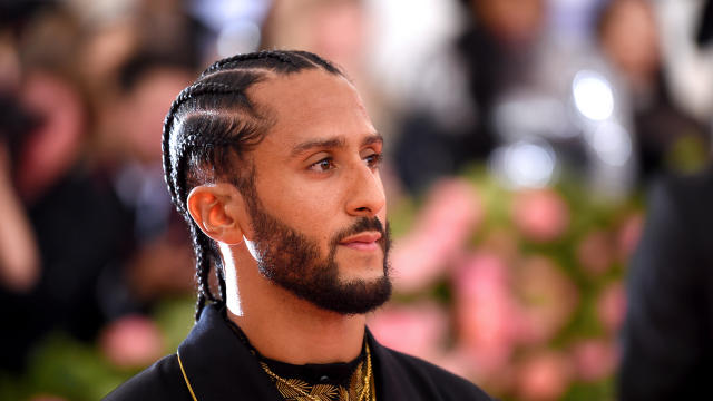 Colin Kaepernick attends the Met Gala at the Metropolitan Museum of Art on May 6, 2019, in New York City.