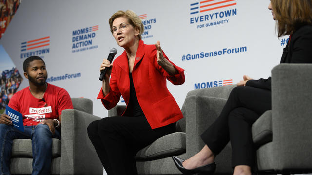 Presidential Candidates Attend Gun Safety Forum In Des Moines