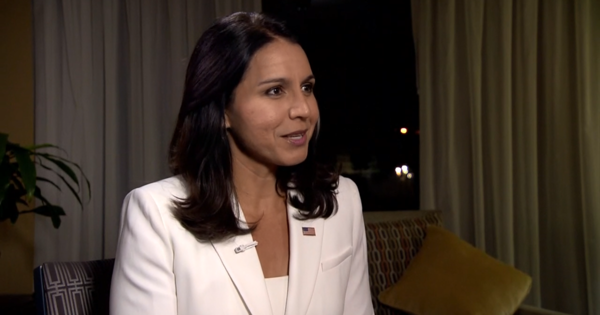 Tulsi Gabbard, Democratic presidential candidate in 2020, to