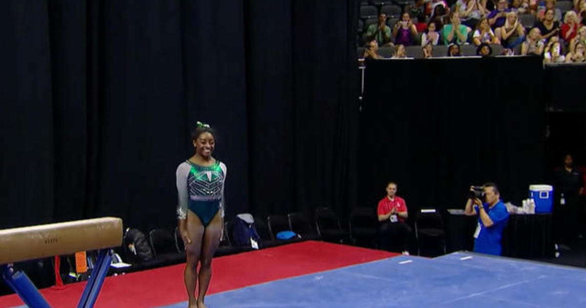 Simone Biles makes history with a