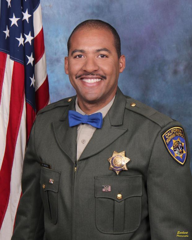 Riverside, California, police shootout: Officer Andrew Moye
