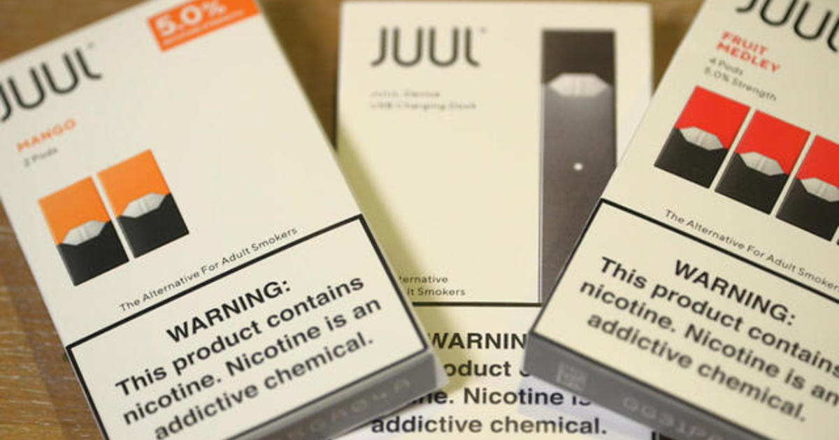 Lawsuit takes aim at vaping company Juul