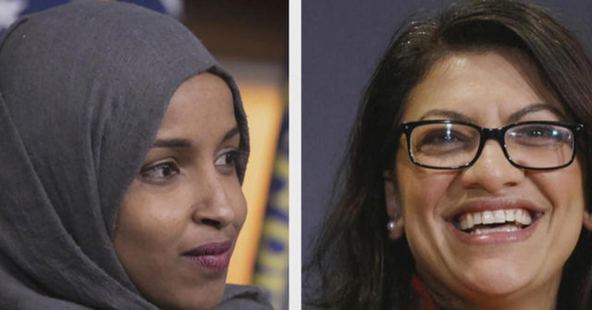 Trump supports Israel's decision to ban Omar and Tlaib