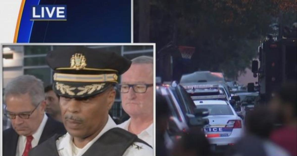Philadelphia police commissioner says suspect continues to